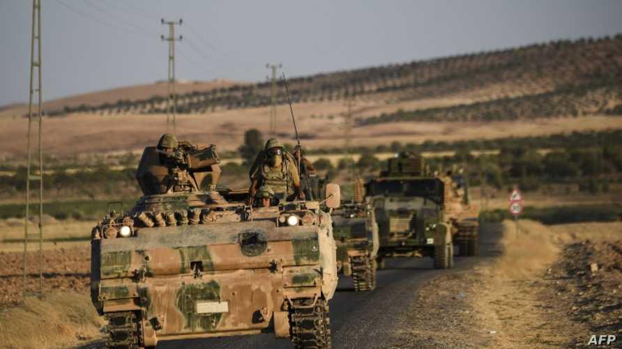 قوات تركية في جرابلس بسورية (أرشيف)