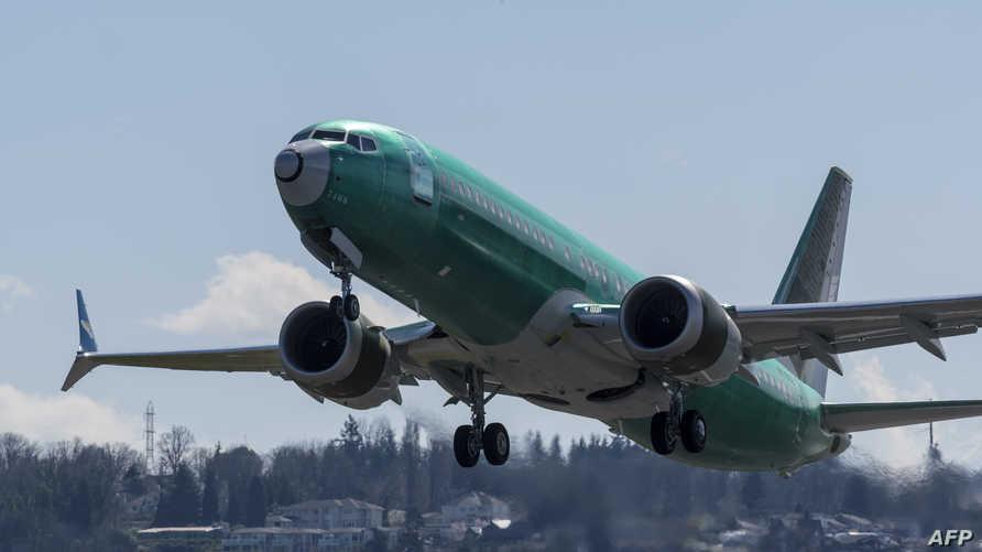طائرة من طراز بوينغ 737 ماكس - أرشيف