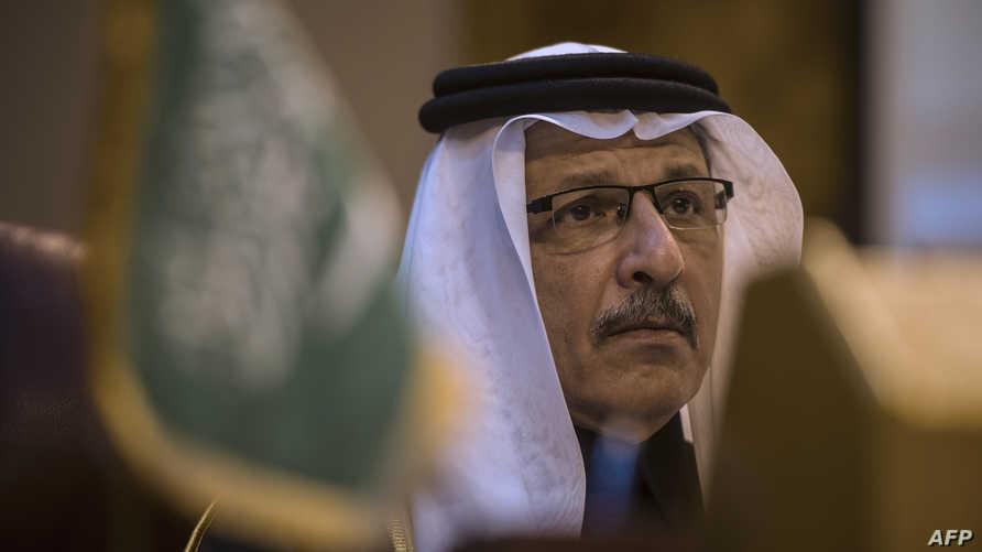 سفير السعودية لدى مصر ومندوب المملكة الدائم لدى الجامعة العربية أحمد قطان، أرشيف