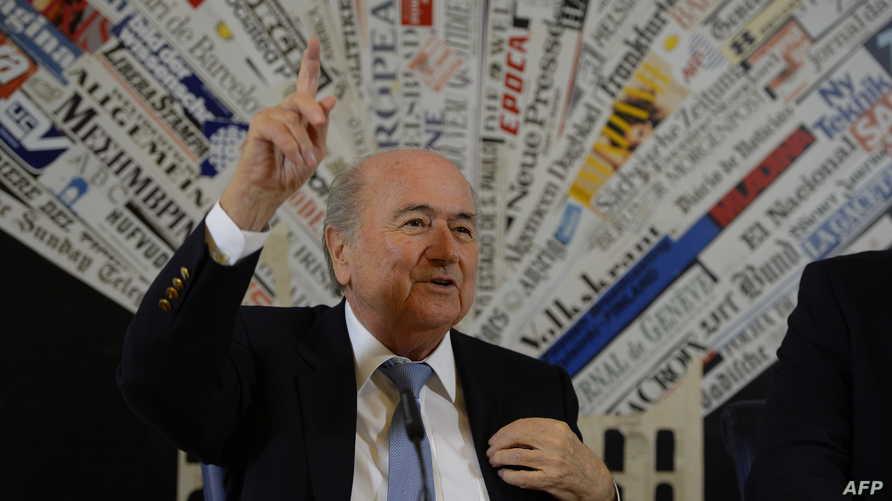 سيب بلاتر رئيس الاتحاد الدولي لكرة القدم - فيفا
