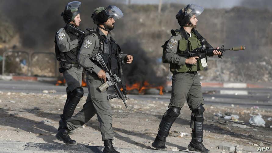 قوات أمنية إسرائيلية في الضفة الغربية