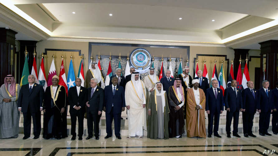 زعماء عرب في قمة الكويت عام 2014 (أرشيف)