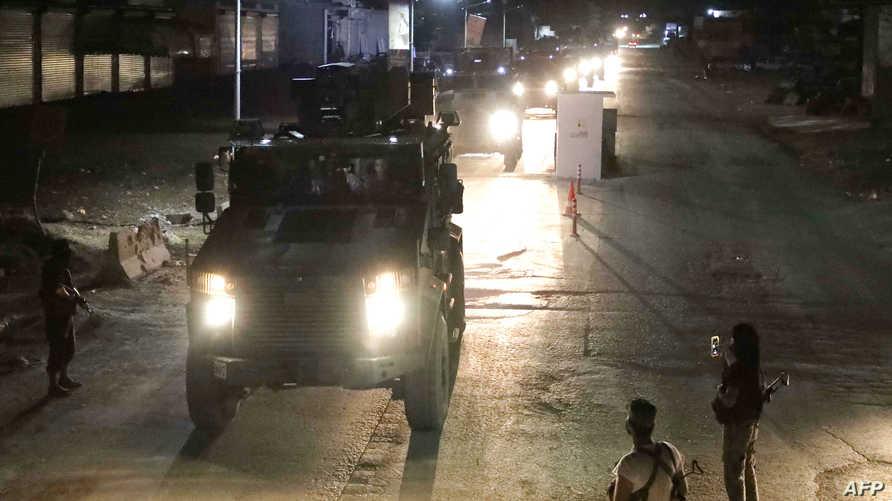 آليات عسكرية تابعة للنظام السوري