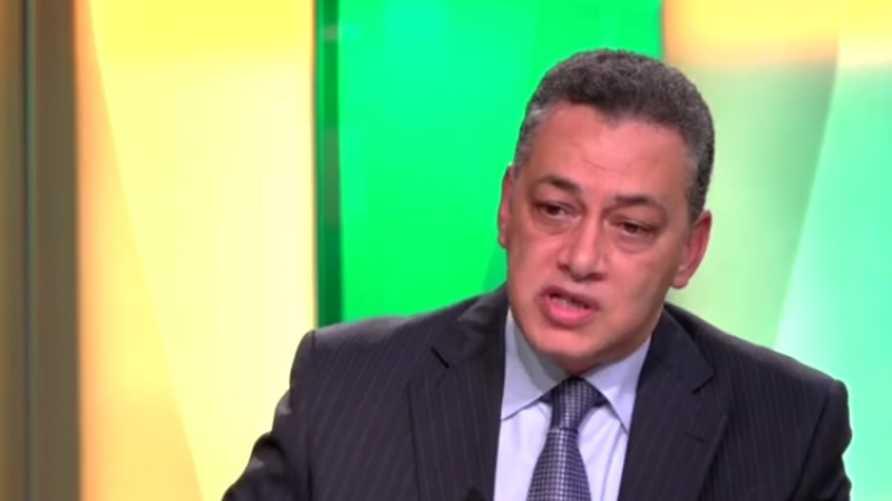 السفير أشرف إبراهيم