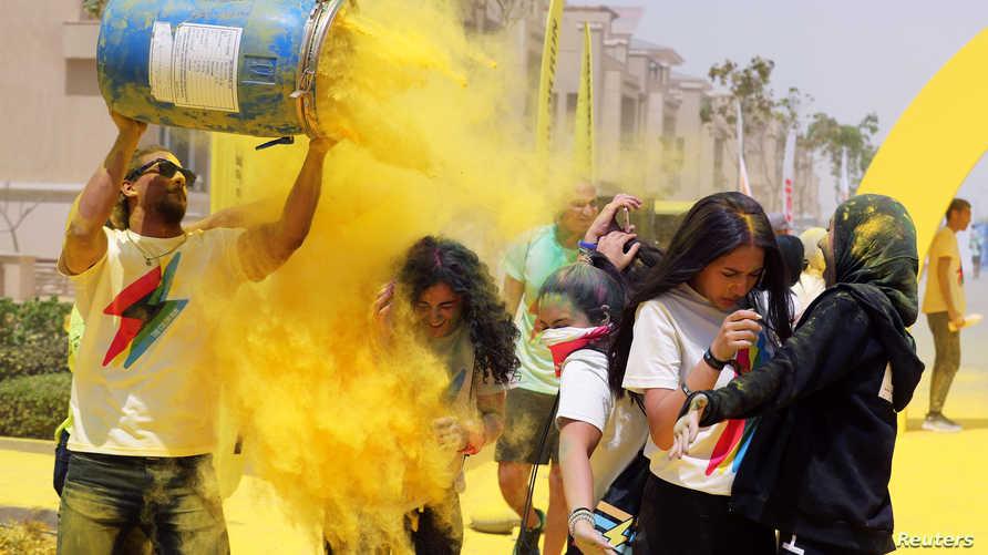 سباق الألوان في الجيزة
