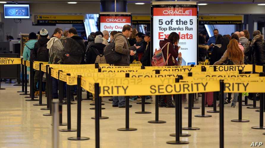 مطار جون إف كيندي في نيويورك