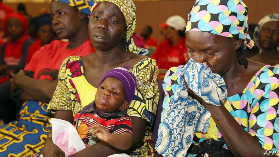 أمهات فتيات مختطفات