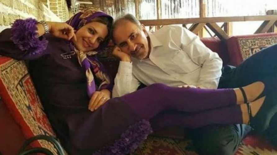 عمدة طهران محمد علي نجفي وزوجته المقتولة ميترا استاد