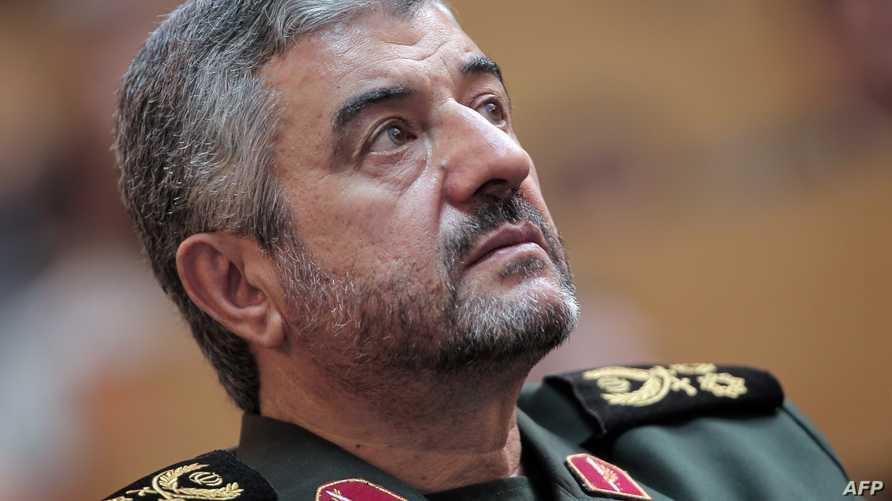 قائد الحرس الثوري الإيراني الجنرال محمد علي جعفري-أرشيف