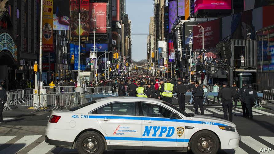 عناصر من الشرطة في نيويورك