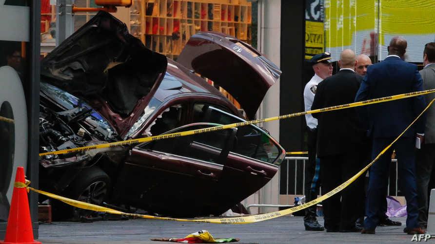 حادث سير سابق في نيويورك-أرشيف