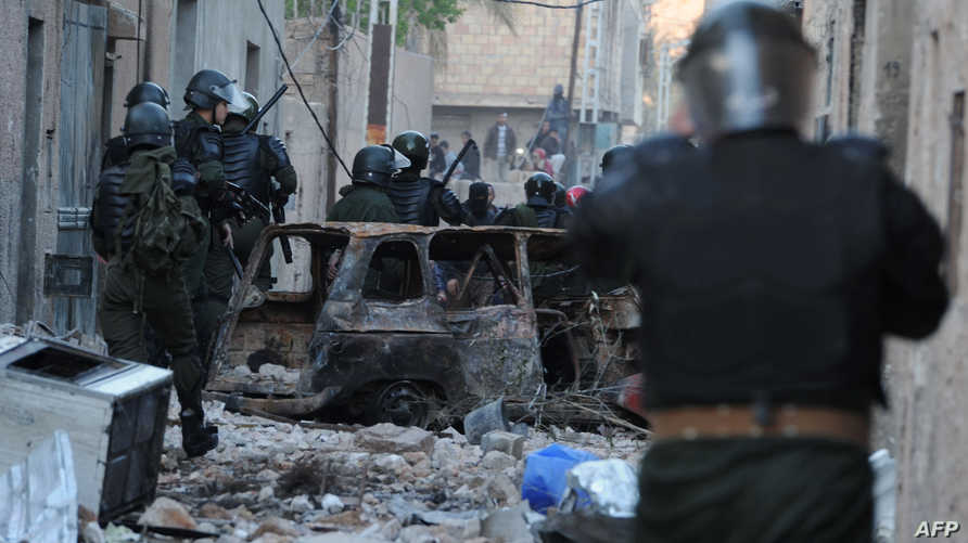قوات جزائرية في غرداية -أرشيف