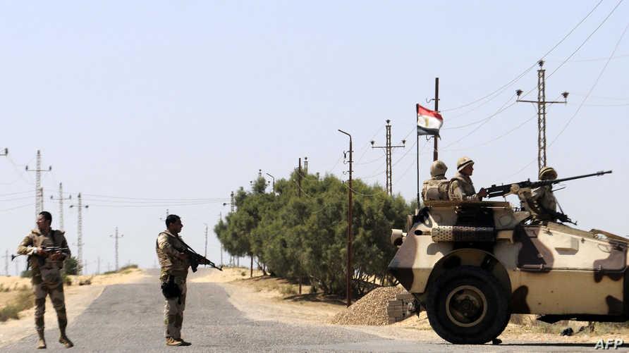 جنود مصريون في سيناء- أرشيف