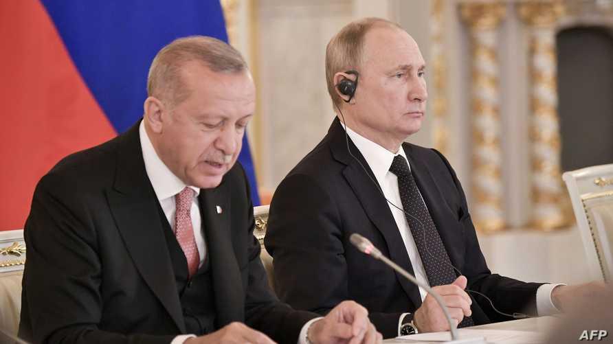 بوتين وأردوغان خلال لقائها الأخير في موسكو