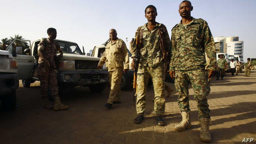 أفراد في الجيش السوداني-أرشيف