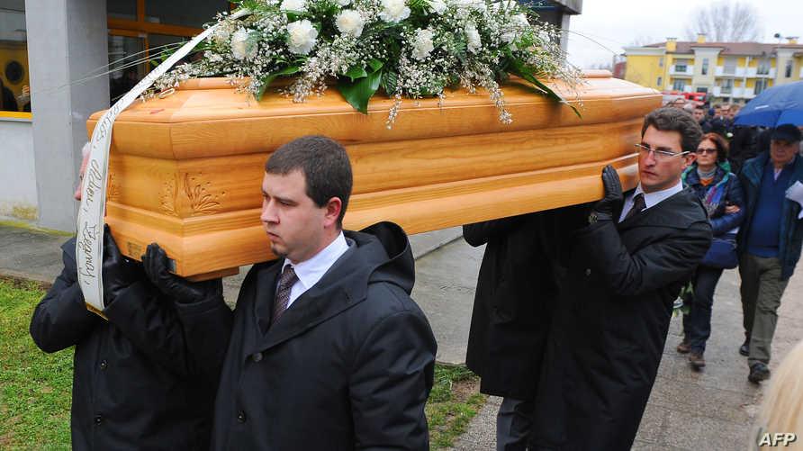 جنازة الطالب الإيطالي جوليو ريجيني_أرشيف