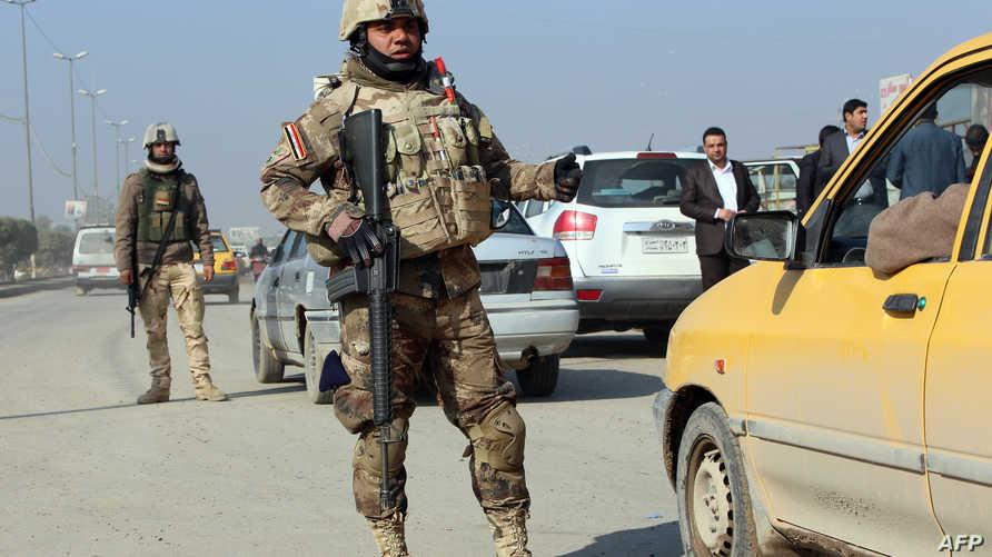 تعزيزات أمنية لمكافحة الإرهاب في العراق-أرشيف