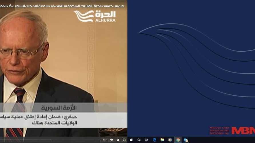 ممثل الولايات المتحدة الخاص بشأن سورية جيمس جيفري
