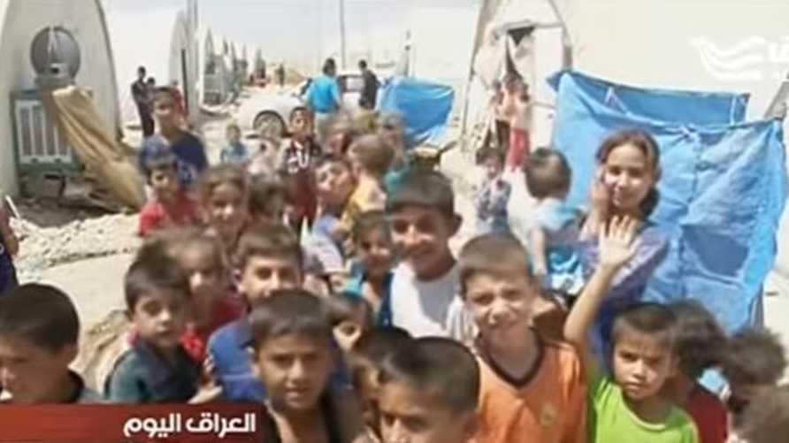 """لقطة من تقرير """"الحرة عراق"""""""