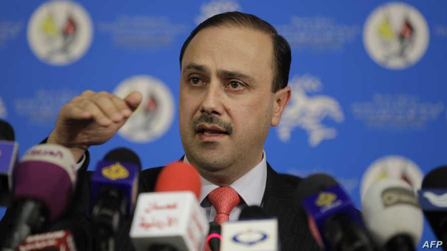 وزير الدولة الأردني لشؤون الاعلام محمد المومني