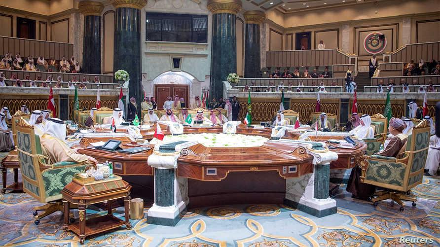 جانب من قمة مجلس التعاون في الرياض