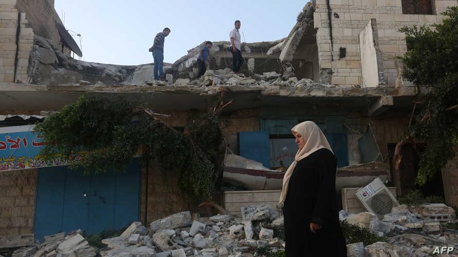 هدم منزل المعتقل بلال أبو زيد الذي تتهمه إسرائيل بالتخطيط لعملية باب العمود