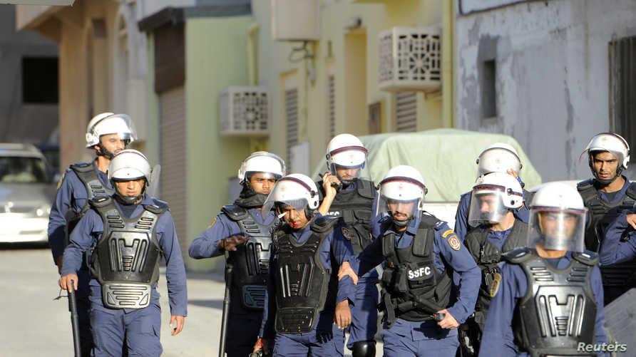 عناصر من الشرطة البحرينية، ارشيف