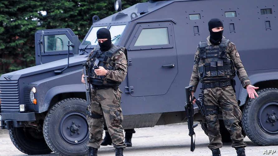 قوات خاصة تابعة للشرطة التركية في إسطنبول - أرشيف