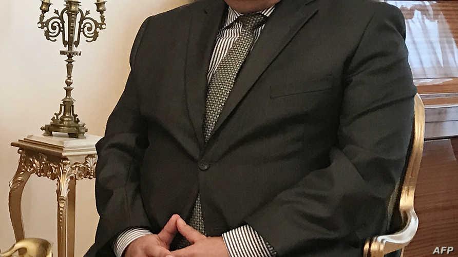 السفير الروسي أندريه كارلوف الذي اغتيل في أنقرة