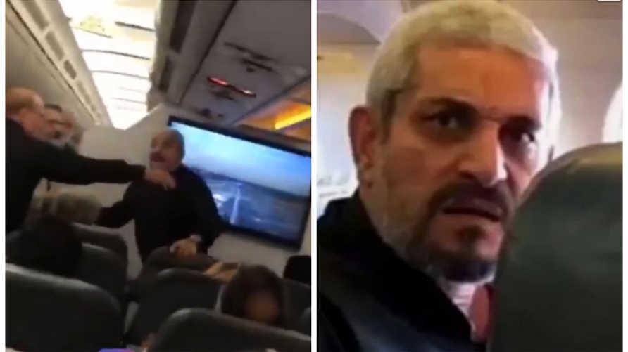 ضرب إيرانية على متن طائرة بسبب حجابها