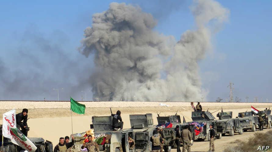 قوات عراقية قرب الرمادي