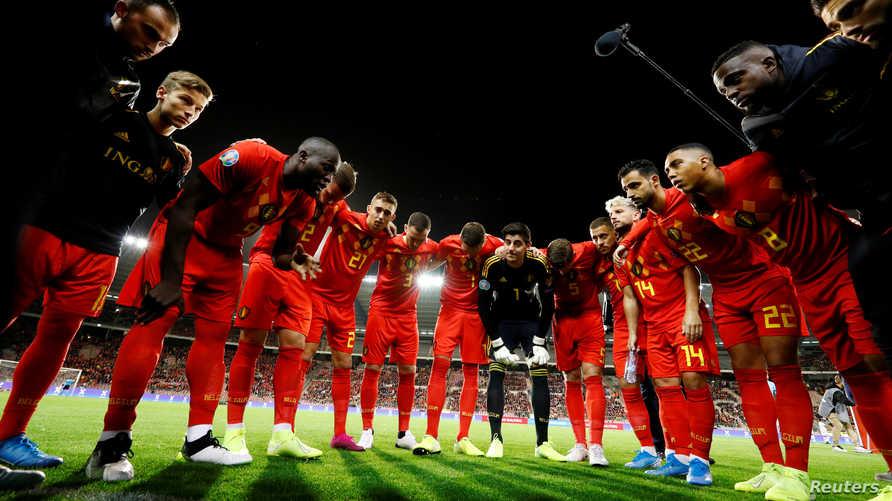 تصفيات كأس أوروبا 2020 بلجيكا أول المتأهلين