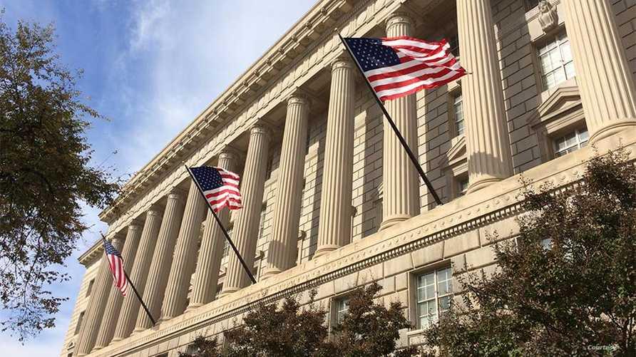 جانب من مبنى وزارة التجارة الأميركية