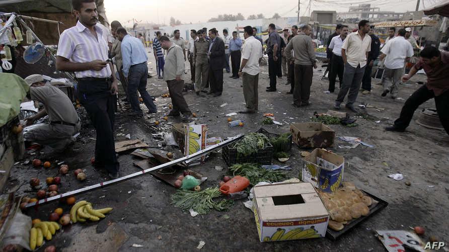 تفجير انتحاري سابق في كربلاء