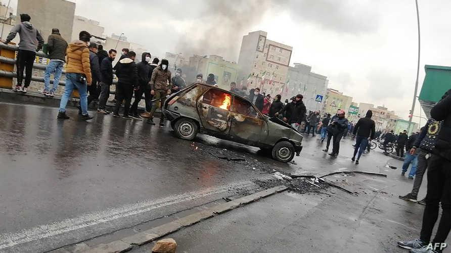 مئات القتلى وآلاف الجرحى في تظاهرات إيران