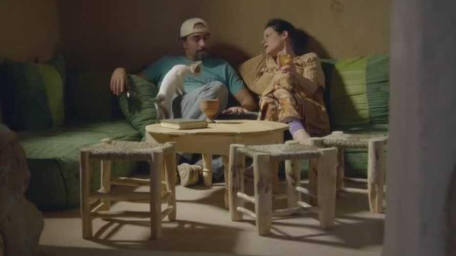 مصطفى جبور وزوجته دينا