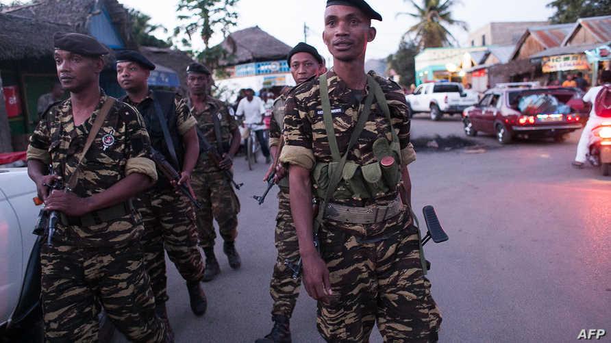 عناصر من الشرطة في مدغشقر