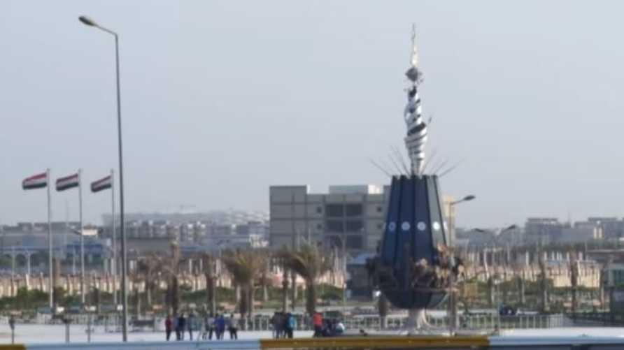 مشهد من مدينة البصرة