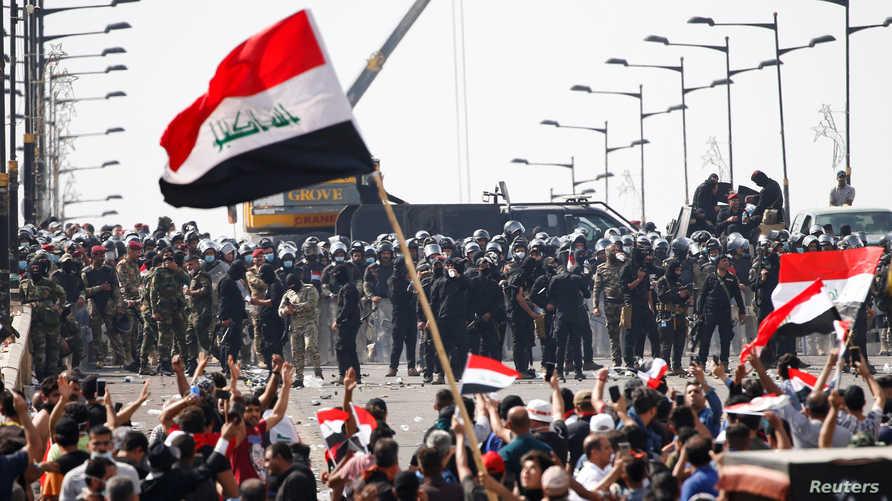 تظاهرات شعبية في العراق