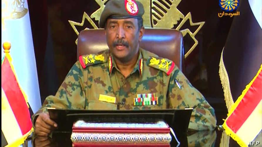 الفريق أول/ركن عبد الفتاح برهان رئيس المجلس العسكري في السودان
