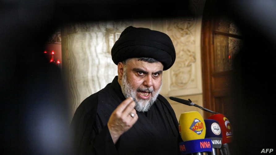 مقتدى الصدر، زعيم التنظيم الشيعي في العراق