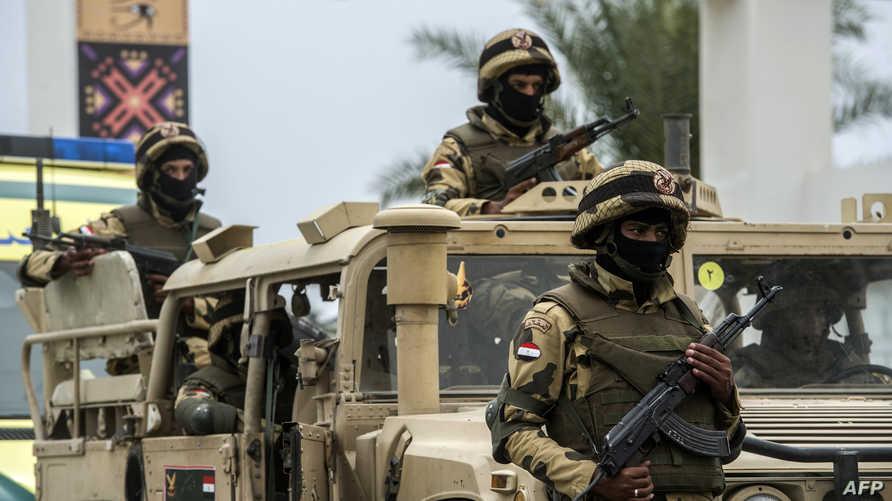 عناصر في الجيش المصري- أرشيف