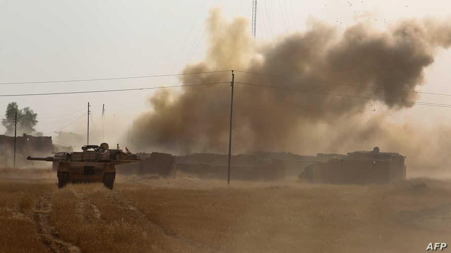 قوات عراقية خلال عمليات عسكرية ضد داعش