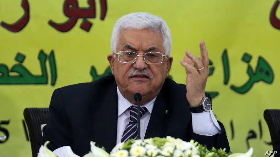 رئيس السطة الفلسطينية محمود عباس - أرشيف