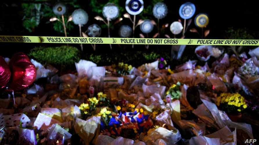 تكريما لضحايا الاعتداء على الكنيس في بيترسبرغ پنسلڤانيا