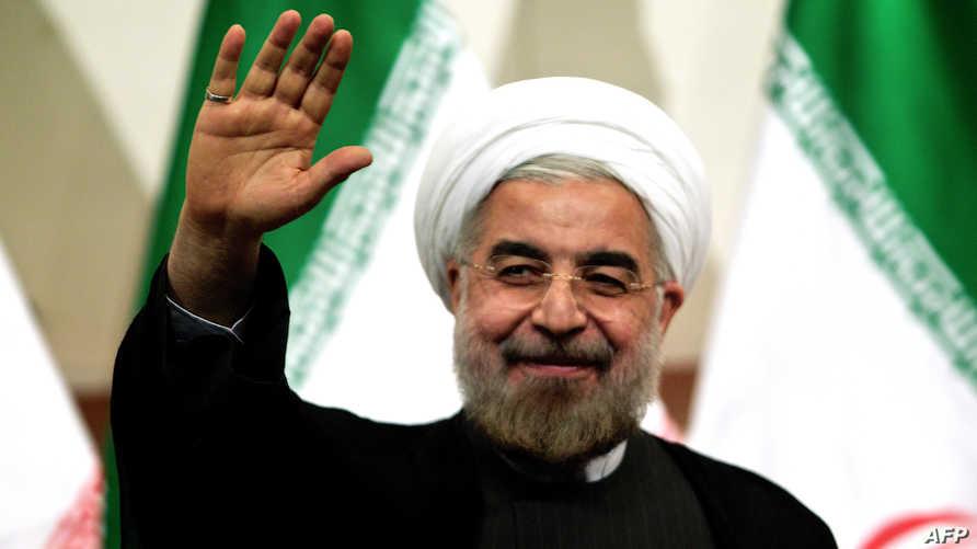 الرئيس الإيراني المنتخب حسن روحاني