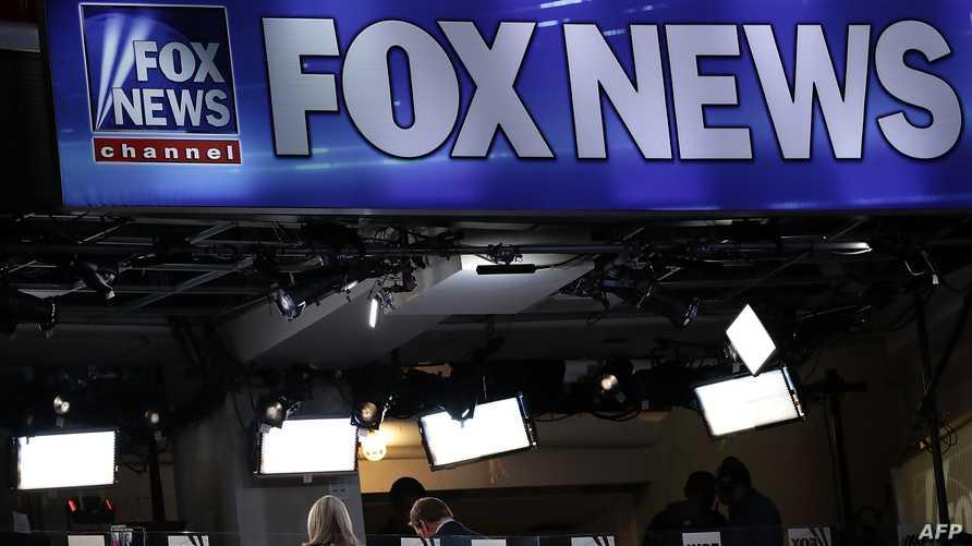 شعار قناة فوكس نيوز خلال الانتخابات الرئاسية