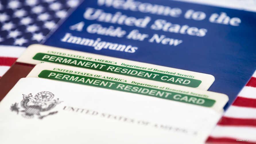 بطاقة الإقامة الأميركية