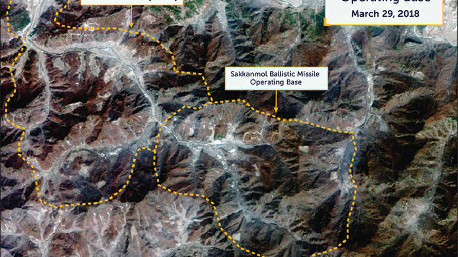 صور تظهر مواقع محتملة لتطوير صواريخ في كوريا الشمالية - Beyond parallel / CSIS