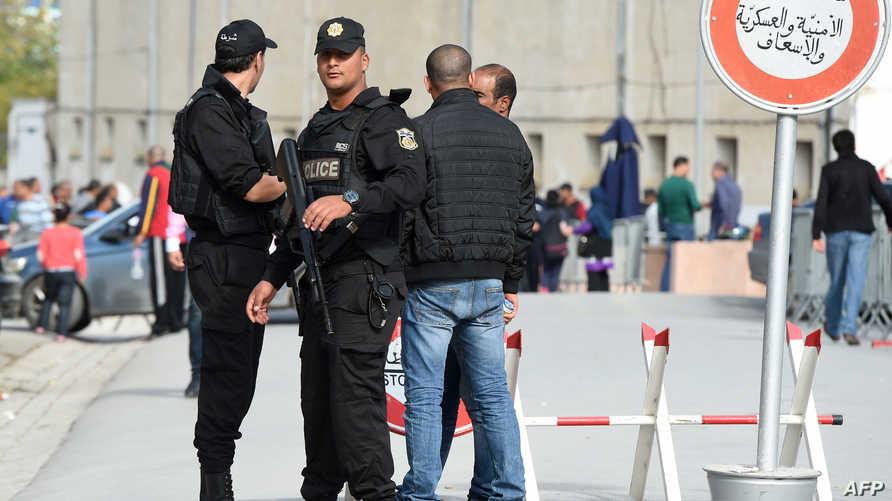 عناصر من الشرطة التونسية-أرشيف